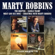 Marty Robbins - The drifter - Saddle tramp - What God has done - Christmas with Marty Robbins (4 classics on 2 Cds)